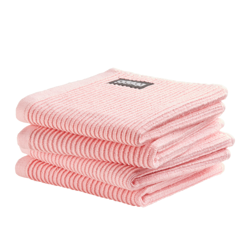 Vaatdoek DDDDD basic clean pastel pink