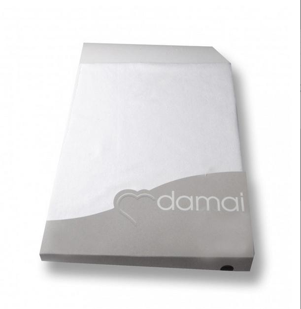 Damai boxspring-waterbedhoeslakens organic molton extra hoge hoek (40)  voor matrashoogte van 25 t/m 35 cm