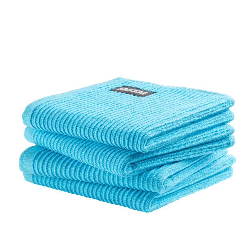 Vaatdoek DDDDD basic clean bright blue