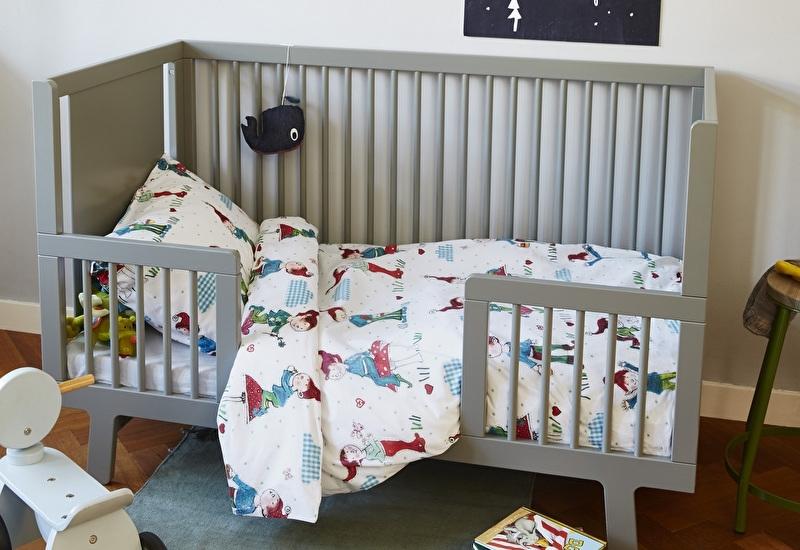 Dekbedovertrek Beddinghouse kids Gnomes Blue 1 persoons