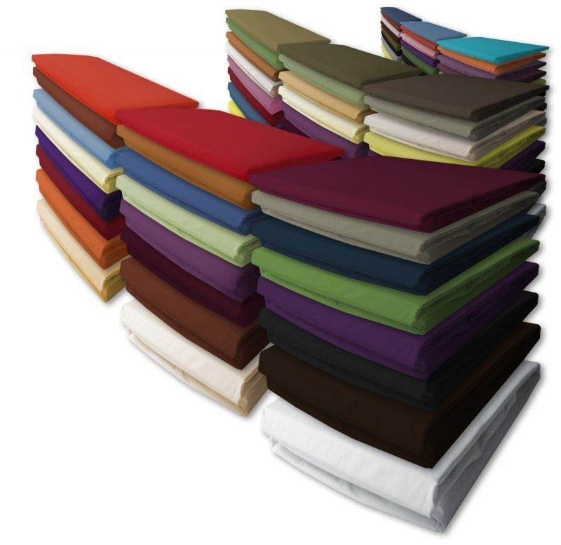 Damai nightkiss  katoen hoeslaken voor toppers of dunne matras met een matrashoogte van 10 tot 15 cm