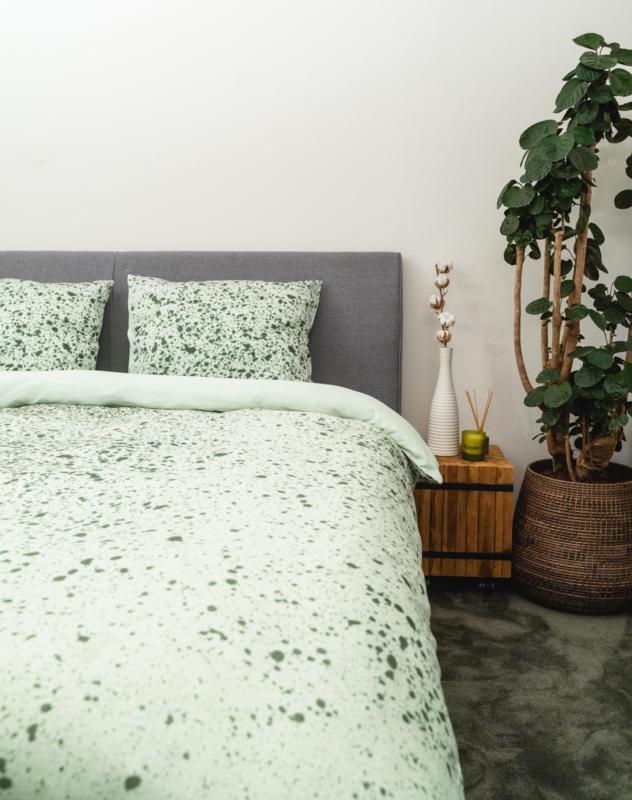 Kayori Tomi - DBO - Katoensatijn - Groen