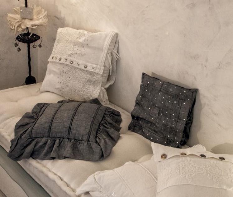 Arte Pura kussen Aneto 100% linnen meerdere kleuren leverbaar