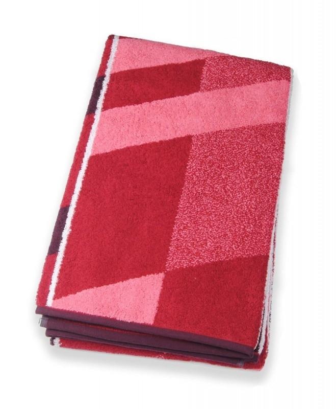Saunalaken Kleinmann Arcano 90x200 cm rood  Art 127256