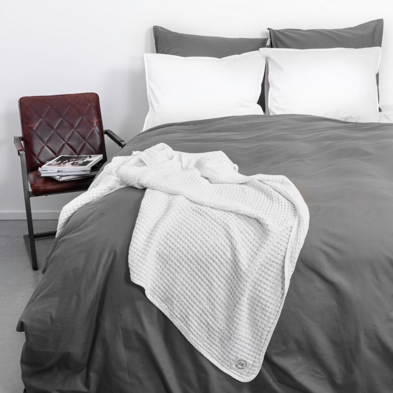 Town & Country dekbedovertrek Arlington  kleur grijs