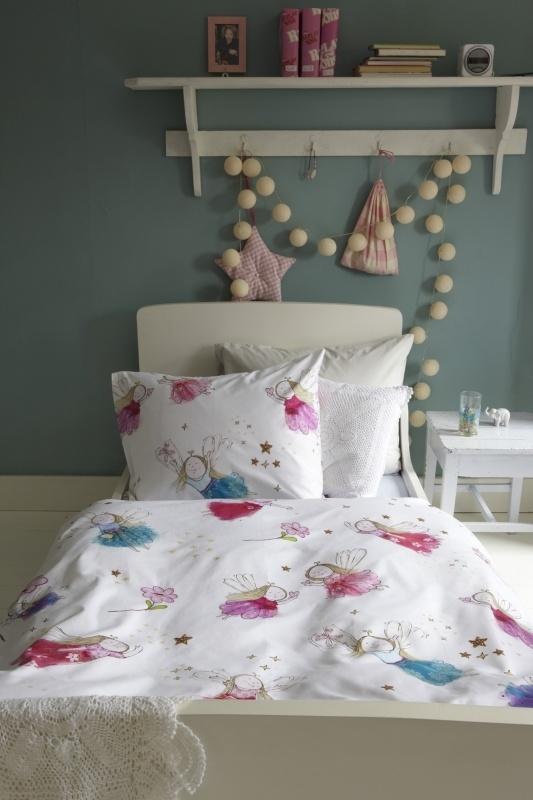 Dekbedovertrek Beddinghouse kids Flower Fairy 1 persoons
