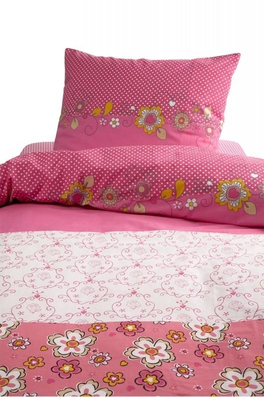 Dekbedovertrek Damai buttercup pink 1 persoons