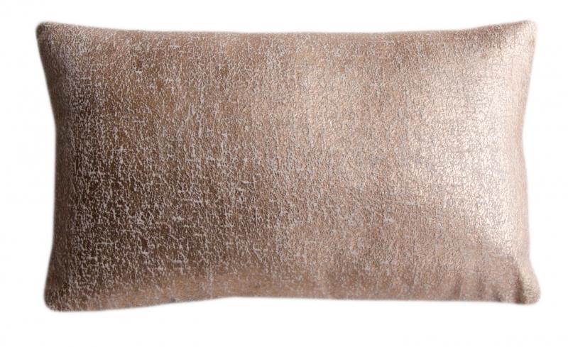 Decoratiekussen Copper Flamant 30x50 cm kleur copper