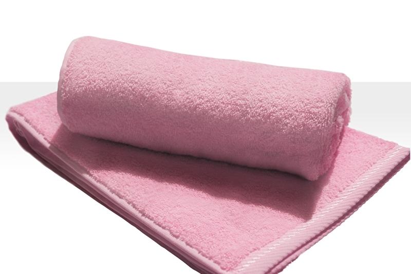 Strandlaken A&R 100x180 cm pink badstof