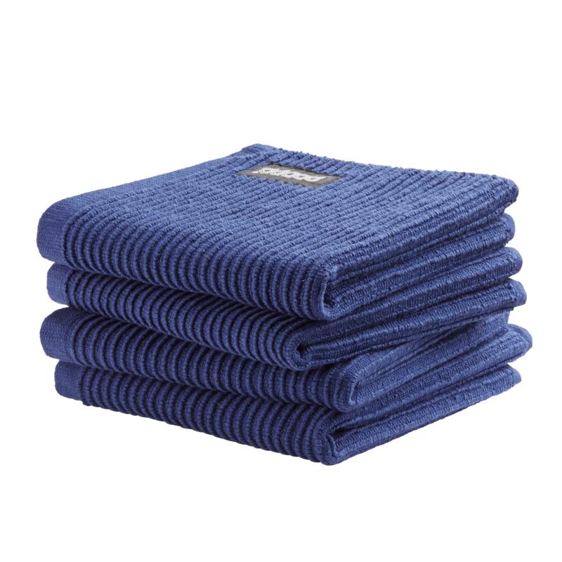 Vaatdoek DDDDD basic clean classic blue
