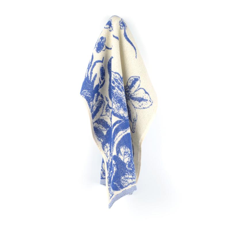 Keukendoek (handdoek) Bunzlau Castle Delfts blue Bird royal