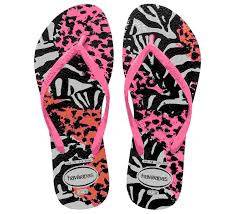 Havaianas slipper slim kids animal pink