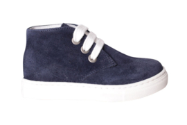 Pinocchio P1853 P1140 sneaker donker blauw suede