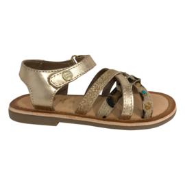 Gioseppo 44953 sandaal gold-multicolor