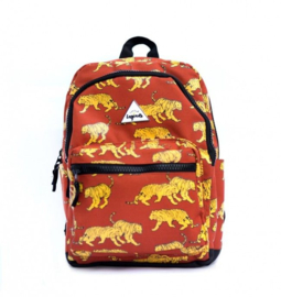Littlelegends  Tiger rust brown backpack L