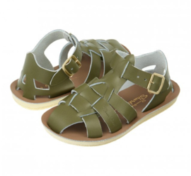 Salt Water Sandals  Shark Olive