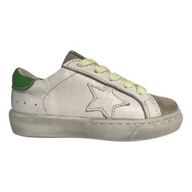 Shoesme VU20S022-B Sneaker bianco green