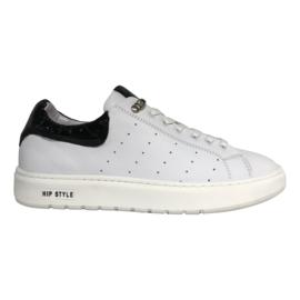HIP Donna D1938 sneaker wit zwart croco