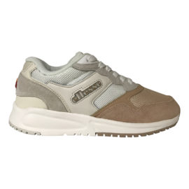 Ellesse NYC84 Sneaker suede white off white rose veters