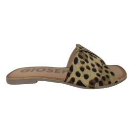 Gioseppo Lthaca leopard slipper
