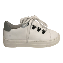 Jagger Classic JR White Leather