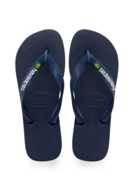 Havaianas slipper Brasil Logo Navy