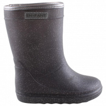 Enfant thermoboots grijs glitter