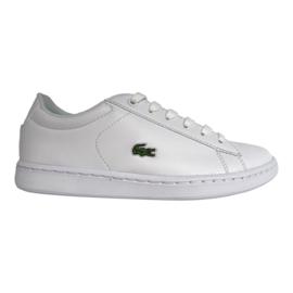 Lacoste sneaker wit veter