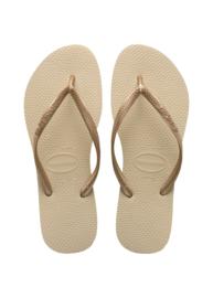 Havaianas slipper slim sand grey