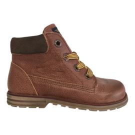 Shoesme DE9W096-A jongens veter boots cognac