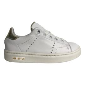 Hip H1812 Sneaker Wit Combi goud