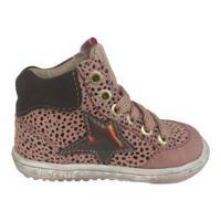 Shoesme EF21W042-C Meisjes Veterschoen Pink Black Dots