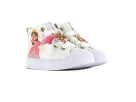 Shoesme SH21S006-E White Princes meisjes sneaker