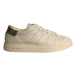Hip D1253 Sneaker Wit Combi Platinum