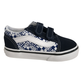 Vans Old Skool donkerblauw Off the wall