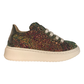 EB Shoes 1704A meisje sneaker glitter multi
