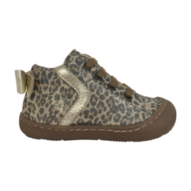 Beberlis 21724 meisje sneaker beige platino jaguar