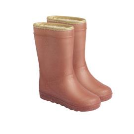 Enfant thermoboots Metallic Rose glitter