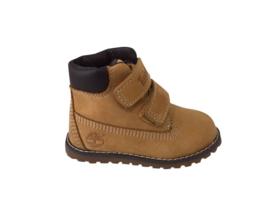 Timberland Pokey Pine boots met klittenband wheat