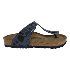 Birkenstock Gizeh Colour Spray Blue small