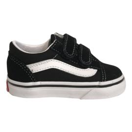 Vans UY Old Skool velcro zwart wit 27-34