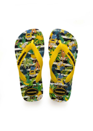 Havaianas Slipper Minions White Citrus Yellow