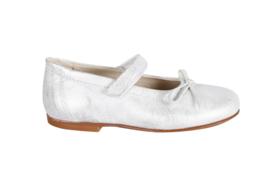 Clic! Ballerina met bandje CL-7364  zilver Bianche Nieve