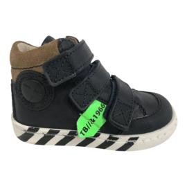 Shoesme UR21W043-B Jongens Klittenband schoen Urban - Marino Green