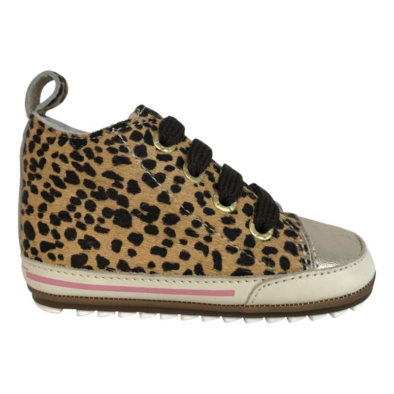 Shoesme BP7W004-A meisjes sneaker luipaard