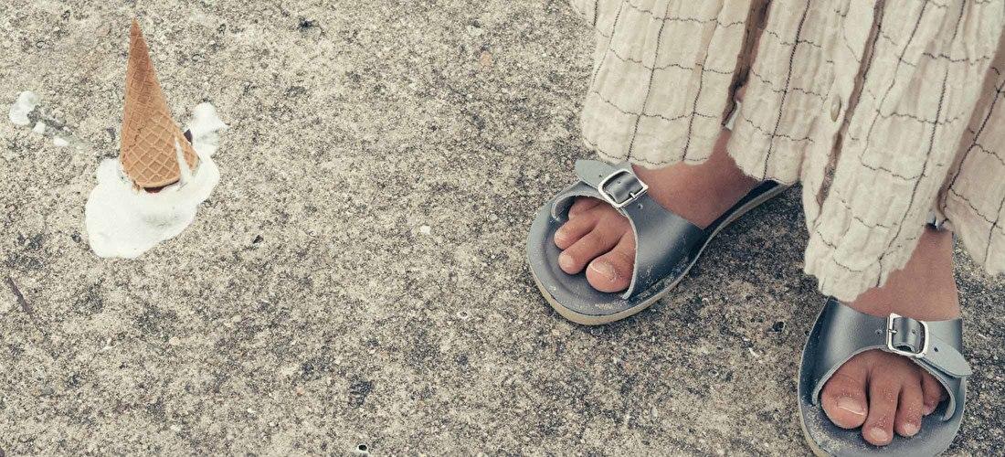 Saltwater sandals, kindersandalen, sandalen voor kinderen | Samsam Kinderschoenen enzo