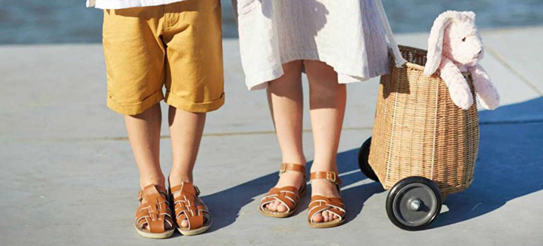 Salt Water Sandals, hippe kindersandalen, kindersandaaltjes | Samsam Kinderschoenen enzo