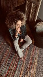 Gaaf gekleurd kleed 180 x 120 cm vloerkleed plaid kleur color colour