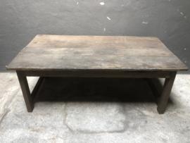 Oude salontafel, koffietafel