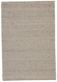 Groot handgewoven 100 % vervilt wol vloerkleed kleed carpet karpet taupe 350 x 250 cm